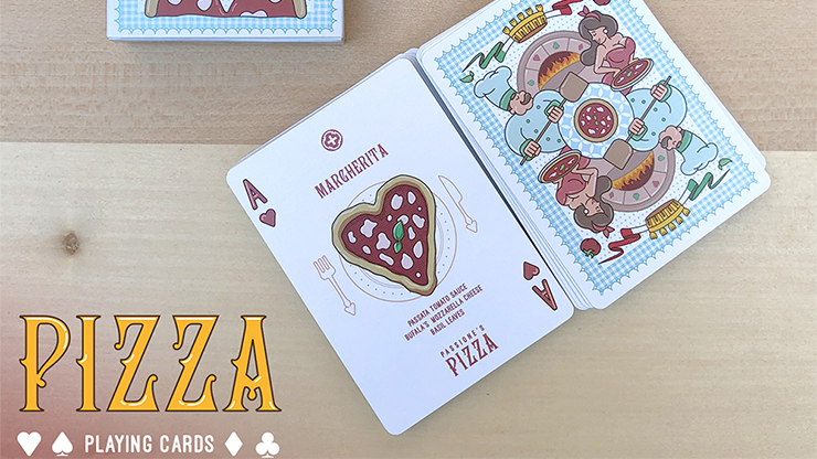 Passione's Pizza Playing Cards... MagicWorld Magic Shop