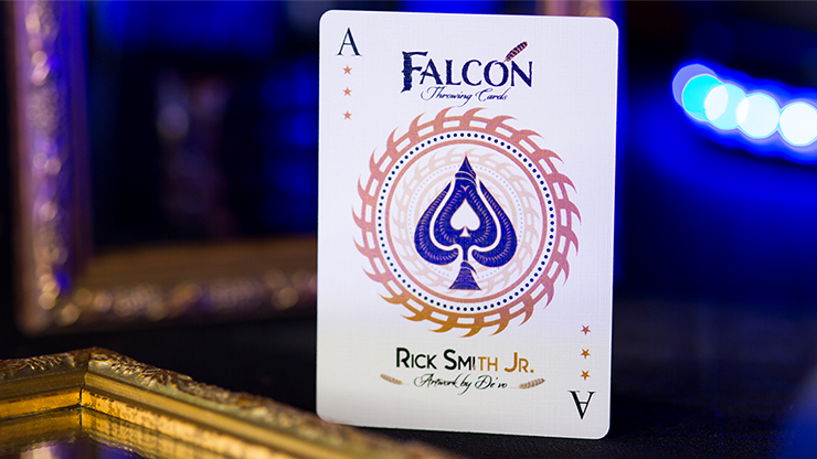 Falcon Throwing Cards by Rick Smith... MagicWorld Magic Shop