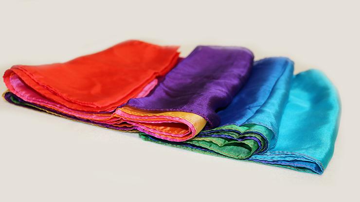 Multicolored Silk Streamer 9 inch... MagicWorld Magic Shop