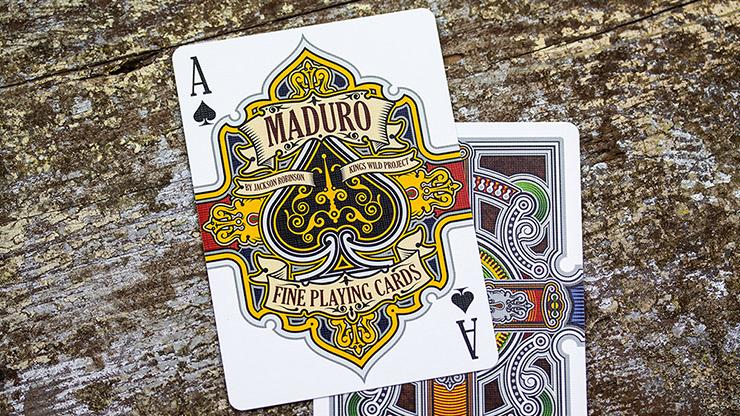 Maduro Silver Edition Playing Cards... MagicWorld Magic Shop