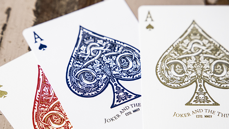White Gold Edition Playing Cards... MagicWorld Magic Shop