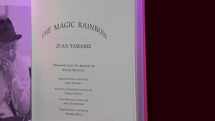 The Magic Rainbow by Juan Tamariz and Stephen Minch - Book