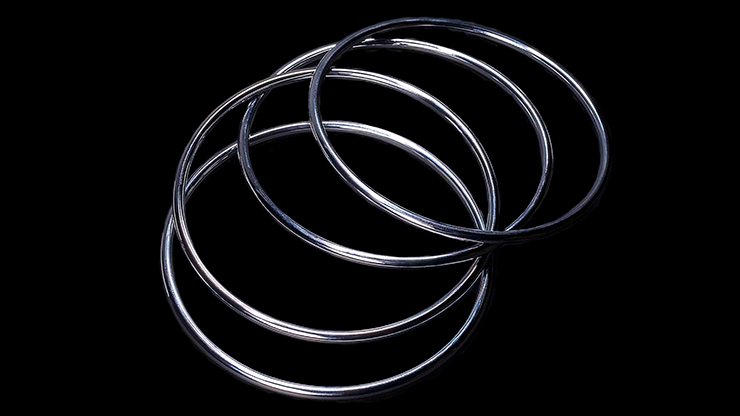 Melero Rings (Gimmicks and Online Instructions) by Ernesto Melero - Trick