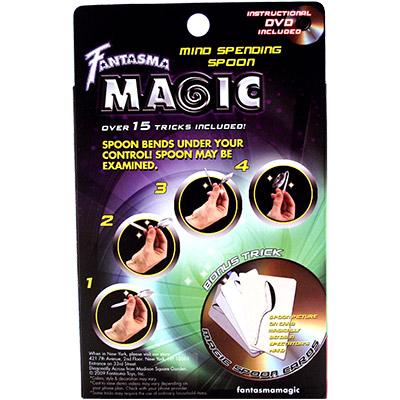 Mind Bending Spoon by Magick Balay and Fantasma Magic - DVD