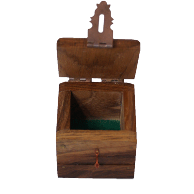 Ring Box (wood) by Premium Magic - Trick