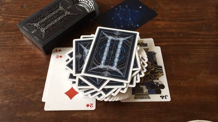 Gemini Noctis Limited Edition and Numbered Playing Cards Deck by Stockholm17